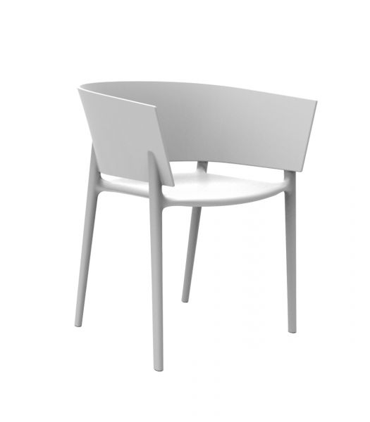 Africa Outdoor Armchair White